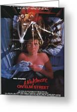 A Nightmare On Elm Street Greeting Card