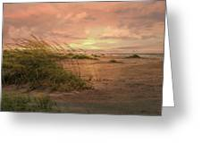 A Painted Sunrise Greeting Card