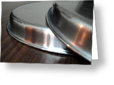 A Pair Of Steel Plates Greeting Card