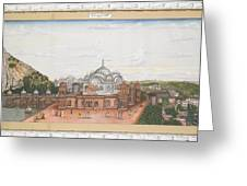 A Panoramic View Of Alwar Greeting Card