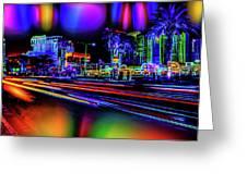 A Parallel Las Vegas Greeting Card