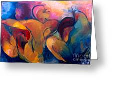 A Passion To Be Raised Greeting Card