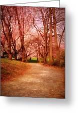 A Path To Fantasy - Holmdel Park Greeting Card