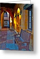 A Peaceful Resting Place Greeting Card by Karon Melillo DeVega