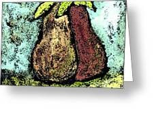 A Pear Pair Greeting Card