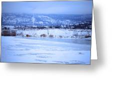 A Penticton Winter Greeting Card
