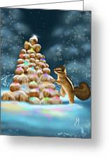 A Perfect Christmas Tree Greeting Card