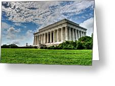 A Perfect Day In Washington Greeting Card
