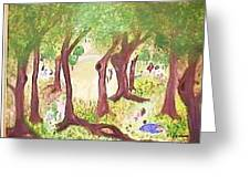A Perfect Day N The Park Greeting Card