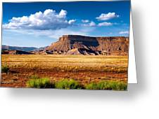 A Perfect Day Out West Greeting Card