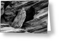 A Piece Of The Rock Greeting Card