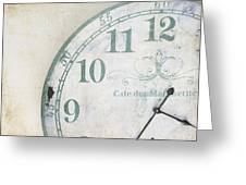 A Piece Of Time Greeting Card