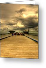 A Pier Greeting Card