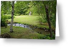 A Place To Dream Awhile Greeting Card