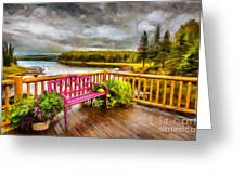A Place To Relax And Enjoy Greeting Card