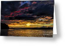 A Place To Relax Greeting Card by Ken Johnson