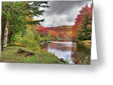 A Place To View Autumn Greeting Card