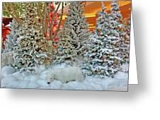 A Polar Bear Christmas Greeting Card