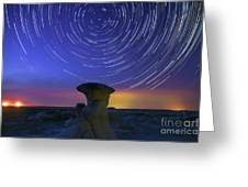 A Portal To Bisti Badlands Greeting Card