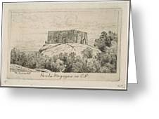A Powder Magazine In Central Park From Scenes Of Old New York, By Henry Farrer, 1844-1903 Greeting Card