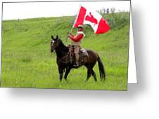 A Proud Cowboy Greeting Card