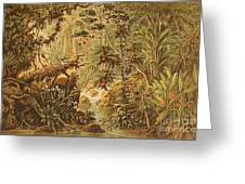A Quaint Detailing Of The Most Beautiful Tropical Country Venezuela Greeting Card