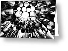 A Question Of Perspective 2 Sibelius Monument Greeting Card
