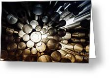A Question Of Perspective On Sibelius Monument Greeting Card