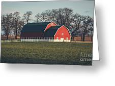 A Red Barn Greeting Card