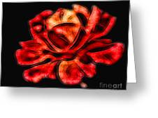 A Red Rose For You 2 Greeting Card by Mariola Bitner