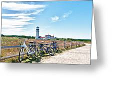 A Ride On The Cape Greeting Card