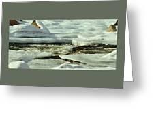 A River Runs Through It Greeting Card