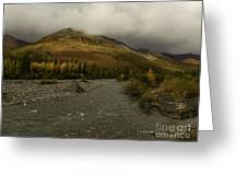 A River Runs Through The Brooks Range Alaska Greeting Card