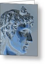 A Roman In Profile Greeting Card