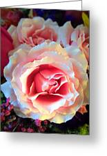 A Romantic Pink Rose Greeting Card