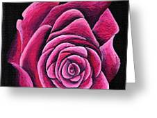 A Rose In Time Greeting Card