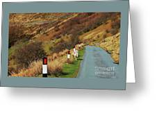 A Rural Vision From Wales Greeting Card