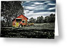 A Ruskin Shed Greeting Card