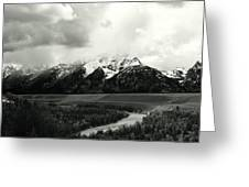 A Salute To Ansel Adams Part I Greeting Card