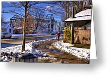 A Sandpoint Winter Greeting Card