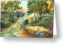 A Sandy Place To Rest Greeting Card