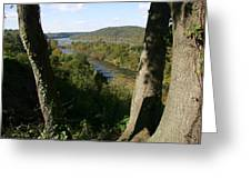 A Scenic View Of The Potomac River Greeting Card by Stephen St. John
