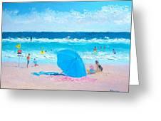 A Sea Breeze Greeting Card
