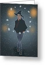 A Sea Witch's Blessed Yule Greeting Card