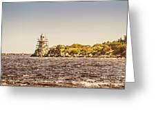 A Seashore Construction Greeting Card