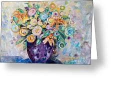 A Season Of Flowers Greeting Card