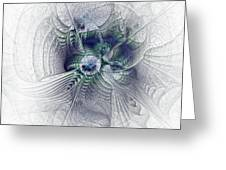 A Secret Sky - Fractal Art Greeting Card