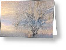 A Shimmering Light Greeting Card