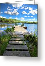 A Short Walk To Paradise  Greeting Card