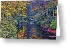 A Smoky Mountain Autumn Greeting Card